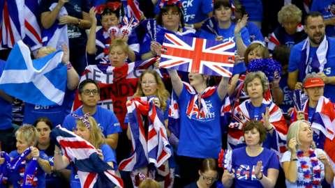 GB Davis Cup fans