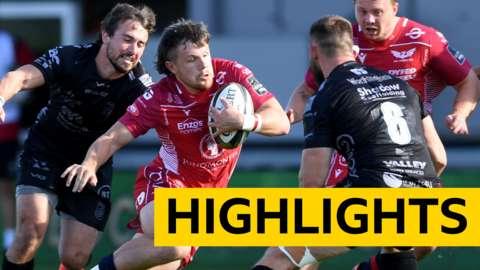 Pro14 highlights: Dragons 21-40 Scarlets