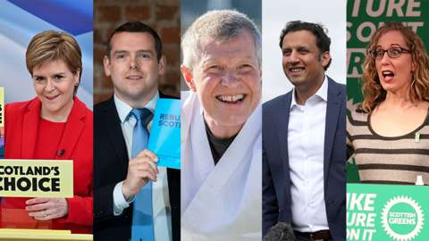 Scottish party leaders