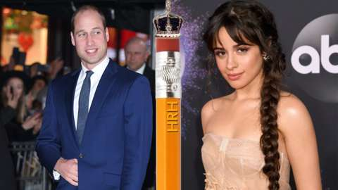 Prince William and Camila Cabello