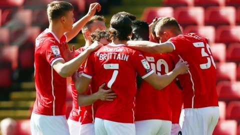 Barnsley celebrate winner