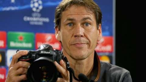Lyon manager, Rudi Garcia