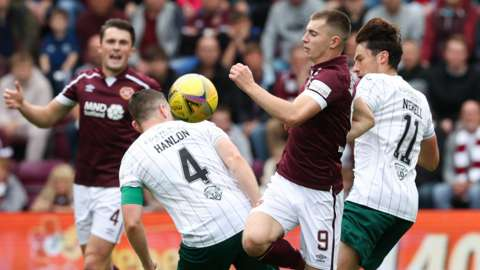 Hearts and Hibs served up an entertaining goalless draw on Sunday