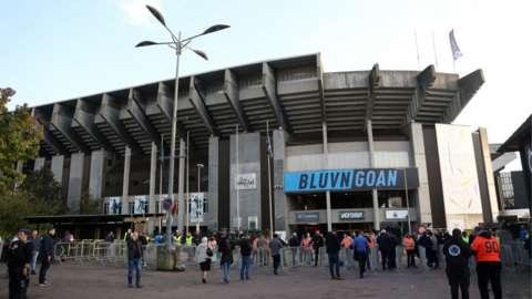 Club Bruges' stadium