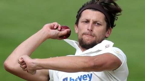 Northamptonshire seam bowler Jack White