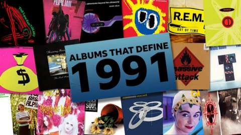 Records albums from 1991