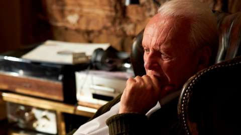 Anthony Hopkins starring in The Father