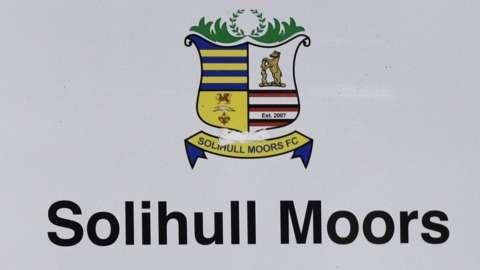 Solihull Moors sign