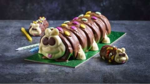 Marks & Spencer's Colin the Caterpillar