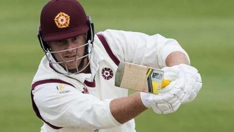 Northamptonshire batsman Richard Levi
