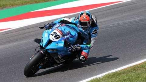 British superbikes rider