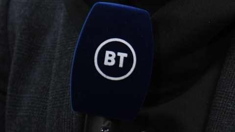 BT Sport microphone
