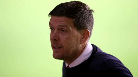 Darrell Clarke left Walsall to take over at League Two rivals Port Vale