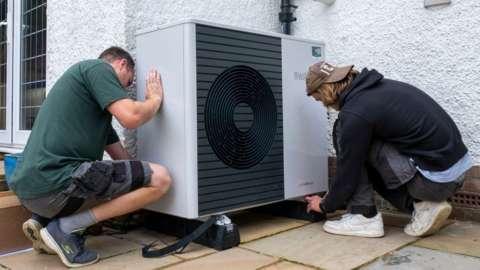 Installing a heat pump in Folkestone