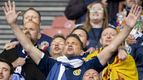 Scotland supporters
