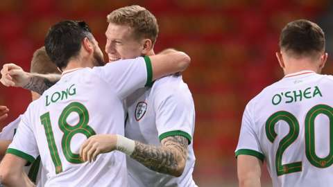 Stoke City winger James McClean has scored 11 goals for the Republic of Ireland
