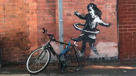 Bike and artwork