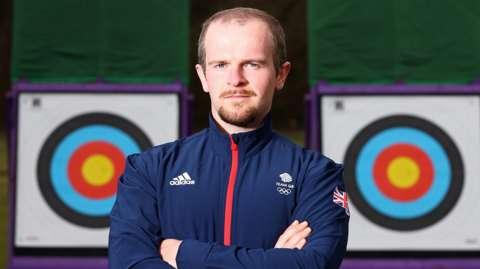 Team GB archer Patrick Huston