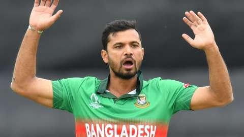 Bangladesh fast bowler Mashrafe Mortaza