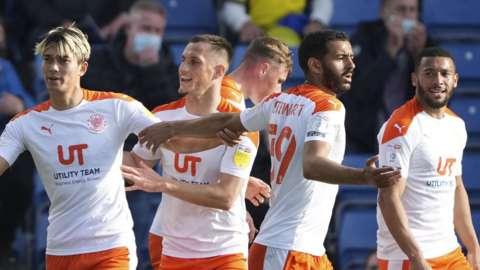 Blackpool celebrate