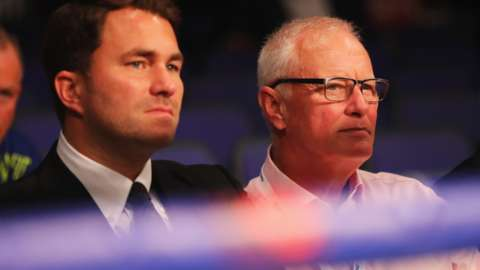 Eddie and Barry Hearn