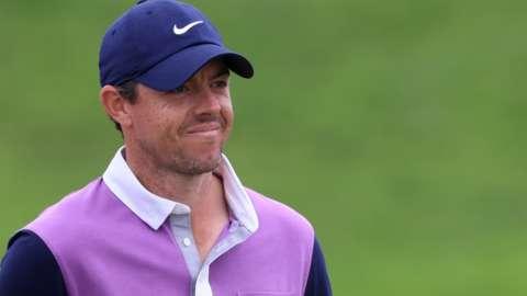 Rory McIlroy smiles