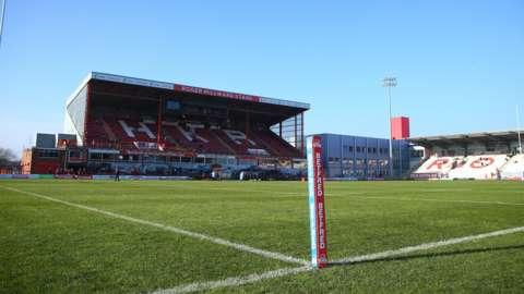 Hull KR's Craven Park ground