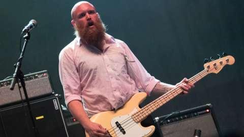 Idles bassist Adam Devonshire