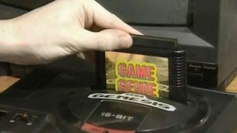 Game Genie in action