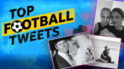 Top Football Tweets: Harry and Sandra Redknapp, Megan Rapinoe and Sue Bird, Beth Mead and Danielle van de Donk