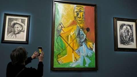 Artwork at auction
