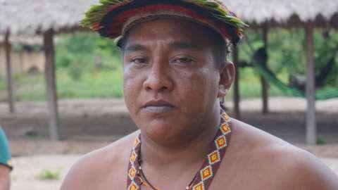 Ka'apor Chief Osmar