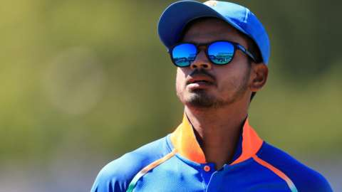 New Lancashire signing Shreyas Iyer suffered his shoulder injury in India's 66-run win against England in the first ODI in Pune