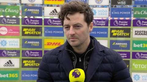 Tottenham interim manager Ryan Mason