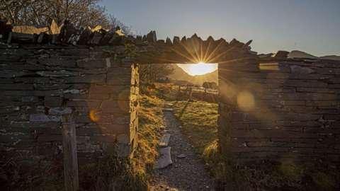 Gwynedd's slate landscape