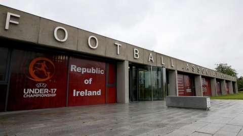 The Football Association of Ireland's headquarters in Dublin