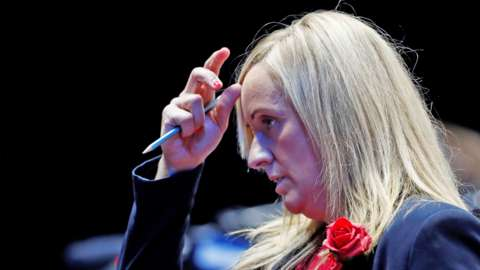 England coach Tracey Neville looks dejected after her team lost