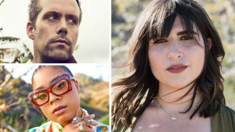 Justin Tranter, Emily Warren and Tyla Parx