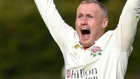 Lancashire's Matt Parkinson