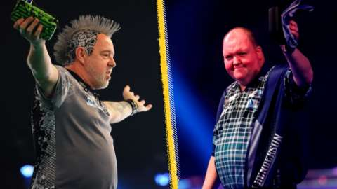 Peter Wright and John Henderson