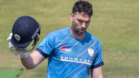 Billy Godleman scored a hundred against Leicestershire in Derbyshire's opening One-Day Cup group game