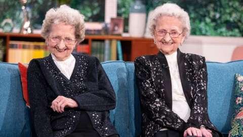 Lilian Cox and Doris Hobday