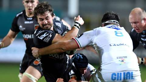 Dragons v Zebre