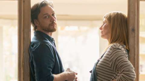 James McAvoy Sharon Horgan