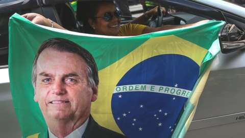 Bolsonaro flag