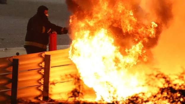 hamilton-wins-after-grosjean-escapes-fire
