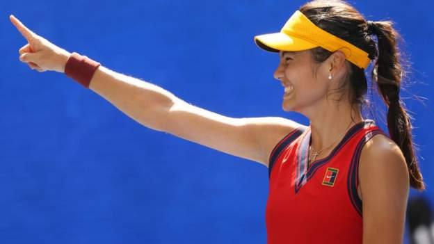 Emma Raducanu: Teenager's US Open run captures imagination
