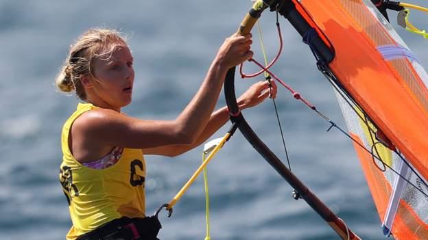 GB's Wilson guarantees windsurfing medal