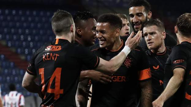 Willem II 0-4 Rangers: Clinical visitors ease into Europa League play-off round - bbc