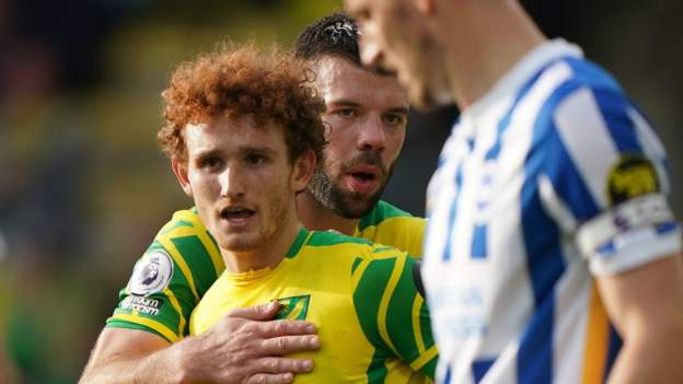 Norwich City 0-0 Brighton & Hove Albion: Canaries earn second point of season - bbc